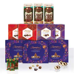 Thorntons Festive Chocolate Bundle Includes Free Deleivery £18