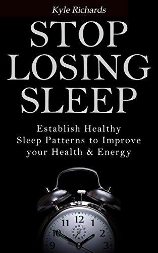 2 books - Stop Losing Sleep: Establish Healthy Sleep & The Ultimate Guide to Better Sleep Kindle Edition - Both Free @ Amazon