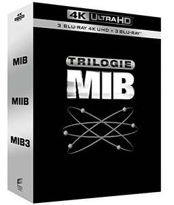 Men in Black-Trilogy [4K Ultra HD + Blu-Ray] now £21.21 delivered / £20.52 with fee free card at Amazon France