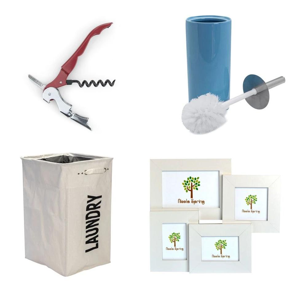 Rinkit Clearance + Free Delivery Using Code - EG: Corkscrew 49p / Ceramic Bathroom Toilet Brush & Holder £2.49 / Collage Photo Frames £2.99