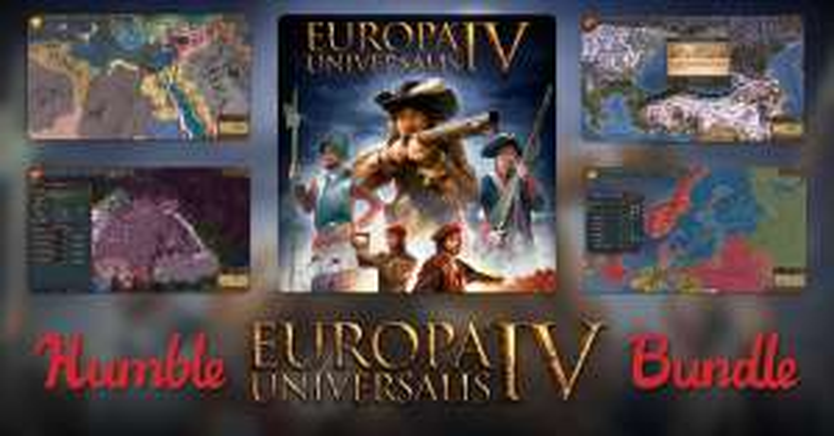 [Steam] Europa Universalis IV Bundle 76p @ Humble Bundle