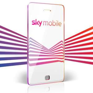 Sky Mobile - SIM Only - 10GB Data - £10 x 12 months - Total Cost: £120