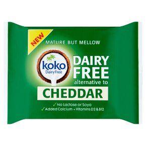 Koko Dairy Free Vegan Cheddar Cheese - £1.50 @ Waitrose & Partners