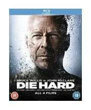 Die Hard Quadrilogy (Blu-ray) £7.99 delivered at Base