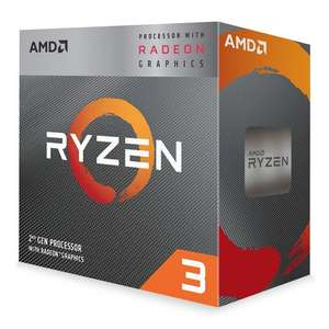 AMD Ryzen 3 3200G VEGA Graphics AM4 CPU with Wraith Stealth Cooler £78.98 @ Scan
