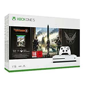 Xbox One S 1TB Division 2 Pack [Damaged Packaging, Missing Codes] £114.29 @ Amazon Warehouse Germany (or £110.58 fee free)