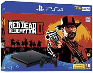 Sony PS4 500GB Red Dead Redemption 2 Bundle £150.91 Like New @ Amazon Warehouse UK