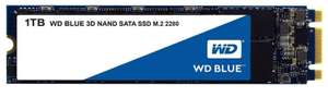 WD Blue 3D NAND Internal SSD M.2 SATA - 1 TB for £85.49 Delivered @ Amazon UK