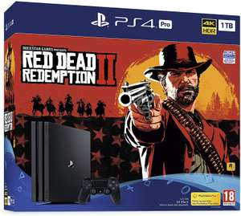 PS4 Pro 1TB Red Dead Redemption 2 Bundle £202.39 Amazon Warehouse UK