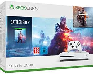 Xbox One S 1TB Battlefield V Deluxe Edition Bundle £137.67 Like New @ Amazon Warehouse France (or £133.19 using fee free card)