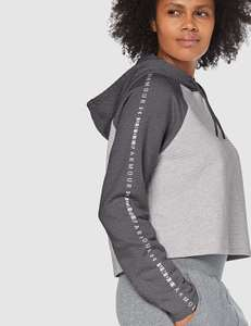 Under Armour Women's Tb Ottoman Fleece Hoodie Warm-up Top in Jet grey light £12.74 (Prime) / £17.23 (non Prime) at Amazon