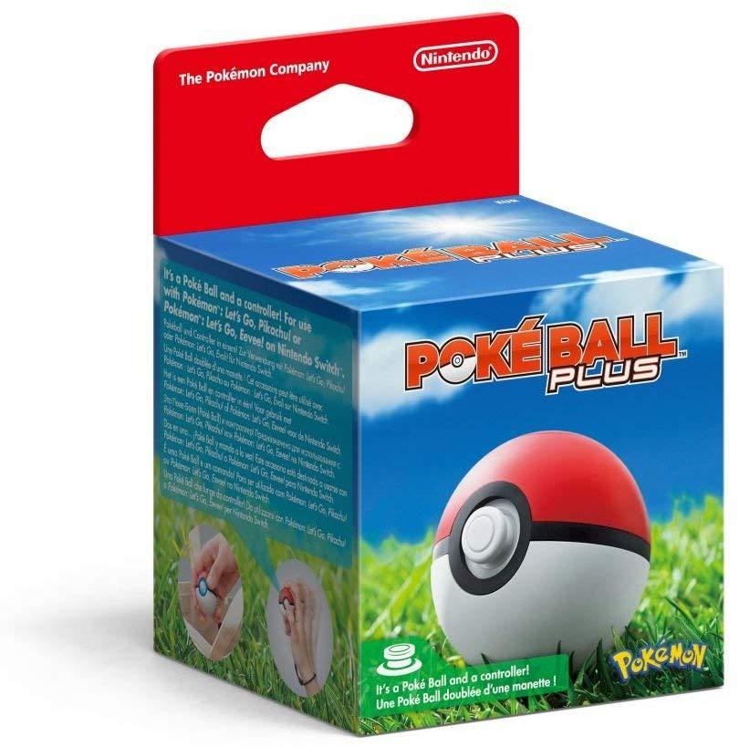 Poké Ball Plus (Nintendo Switch) used like new - £26.65 @ Amazon UK Warehouse