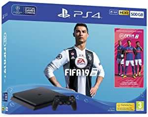 Sony PS4 Slim 500GB FIFA 19 Bundle £174.82 - Used Like New @ Amazon Warehouse UK