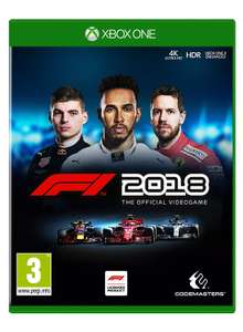 F1 2018 Standard Edition (Xbox One) £12.99 (Prime) / £15.98 (non Prime) at Amazon
