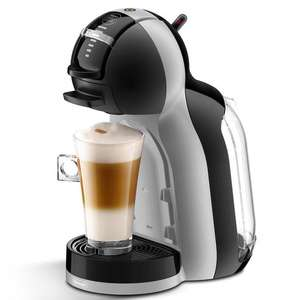 Nescafé Dolce Gusto - Black and Grey 'Mini Me' Nespresso Coffee Machine By De'Longhi EDG155 £45 Debenhams