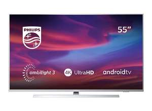 Philips 55PUS7304/12 55-Inch 4K UHD Android Smart TV with Ambilight and HDR 10+ £480 Amazon