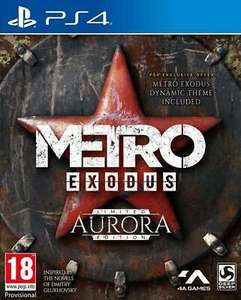 Metro Exodus - Aurora Edition   PlayStation 4 PS4 New for £21.99 Delivered Sold by Itemdropped @ Ebay