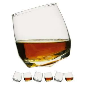 Sagaform 6 rocking whiskey glasses £12.45 delivered @ Habitat