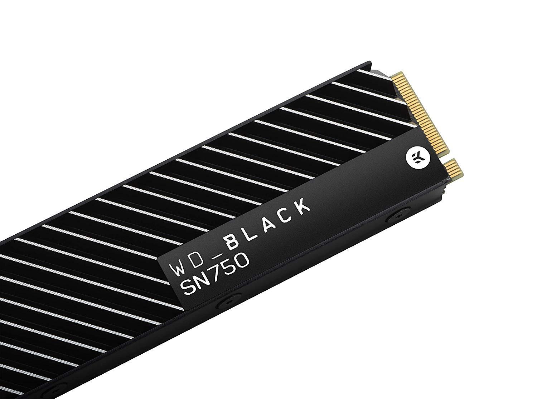 Western Digital SN750 500GB High-Performance NVMe Internal Gaming SSD, with Heatsink £79.99 from Amazon
