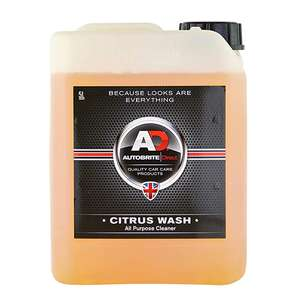 Autobrite Citrus Wash - Multi Purpose Cleaner 5ltr £14.77 @ Carparts4less