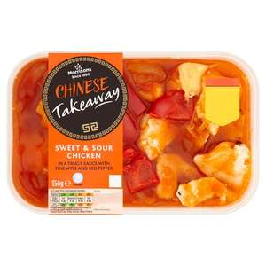 Morrisons Takeaway Curries and Chinese Main £2 / Sides £1 @ Morrisons