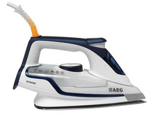 AEG Precision 4 Safety Iron DB6120-U 2200 Watt Iron Blue £25.00 @ Ao (Free P&P)