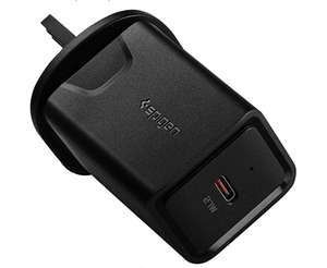 Spigen SteadiBoost PD Wall Charger, USB C Charger, 27W £7.49 prime / £11.98 non prime Sold by Spigen and Fulfilled by Amazon
