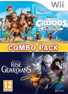 The Croods Prehistoric Party & Rise Of The Guardians (Wii Combo Pack) - £2 in-store with 2 yr warranty @ CeX + £1.50 p&p if you order online