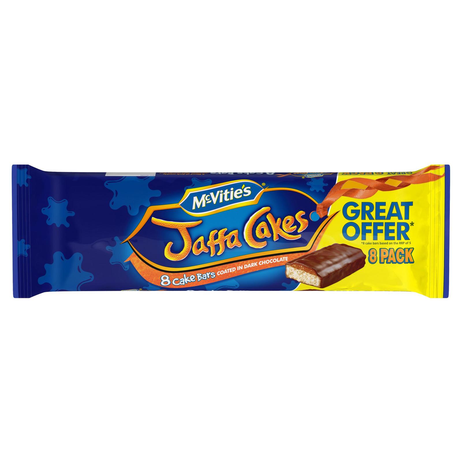 8 McVitie's Jaffa Cake Bars £1 at Heron Foods Abbey Hulton