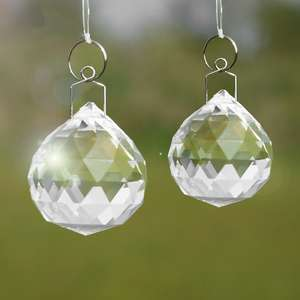 M&W Crystal Sun Catcher with Hanging Kit £3.49 Delivered Using Code @ Roov