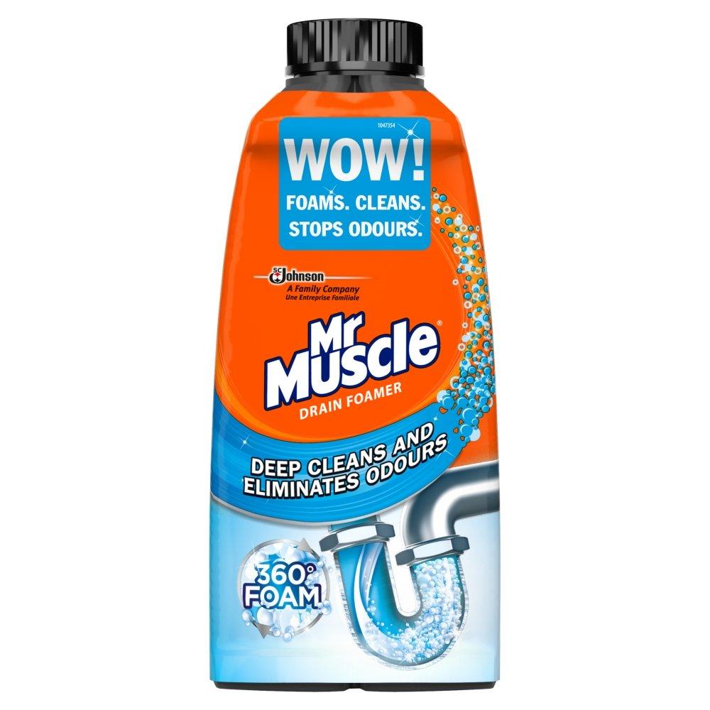 Mr Muscle Kitchen and Bathroom Drain Foamer 500ml for £1 @ Wilko