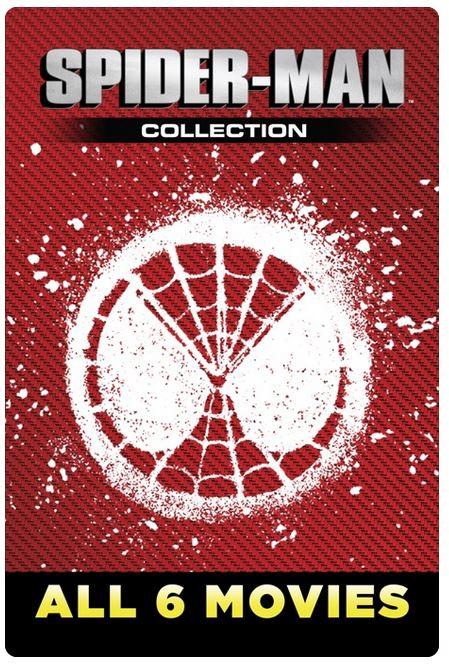 6 Spider-Man Movies in 4K £22.94, Itunes [Just Added]