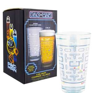 Classic Pac-Man Arcade Colour Changing 500ml Drinking Glass £3.99 @ Onbuy / Sold By Paladone Products Ltd