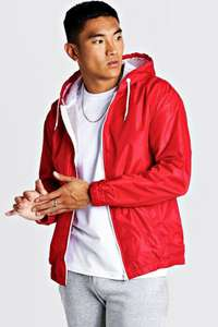70% off Men's Zip up Red Jacket was £20 Now £6 / £7 Next Day Delivery with code @ BoohooMan