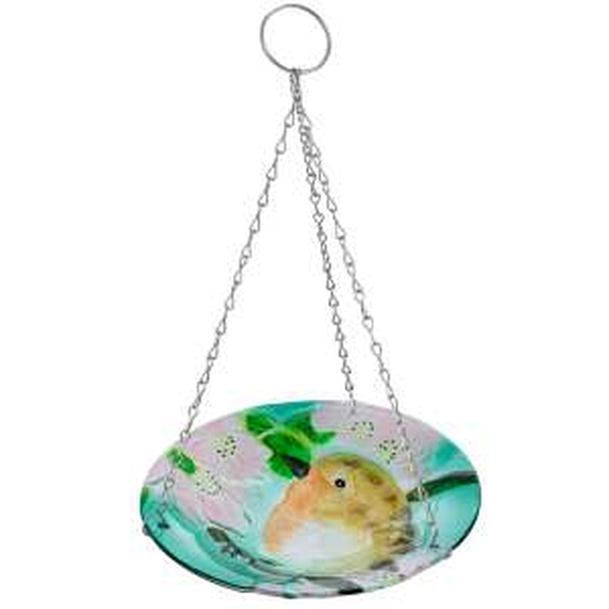 Smart Garden robin hanging glass birdbath £5.99 / glass table £11.99 at Robert Dyas free c&c