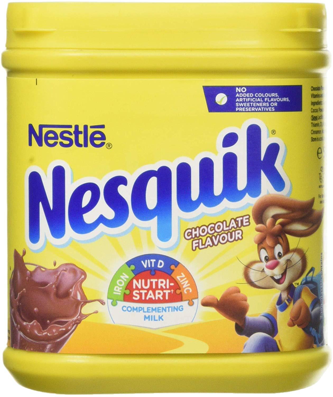 Nesquik Chocolate Milkshake Powder 500g £2 @ Amazon