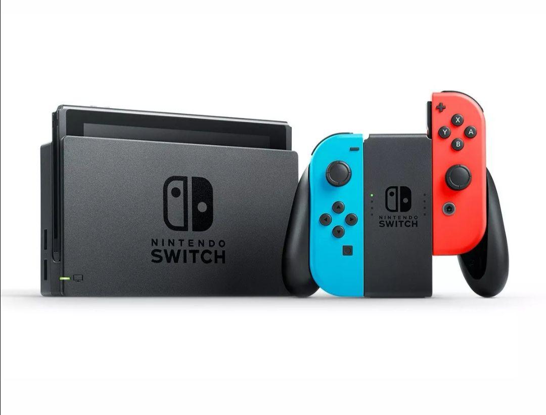 Nintendo Switch 6.2 Inch 32GB WiFi Console - Neon Red & Blue Refurbished £249.99 @ Argos Ebay