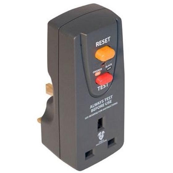 RCD Adaptor - 3120 watts 240V maximum load £3 @ Homebase (Free Click & Collect)