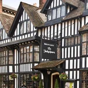 1 Night Stay at the 4* Mercure Stratford-upon-Avon Shakespeare Hotel (Including Breakfast & a bottle of Wine ) from £59 @ Travelzoo