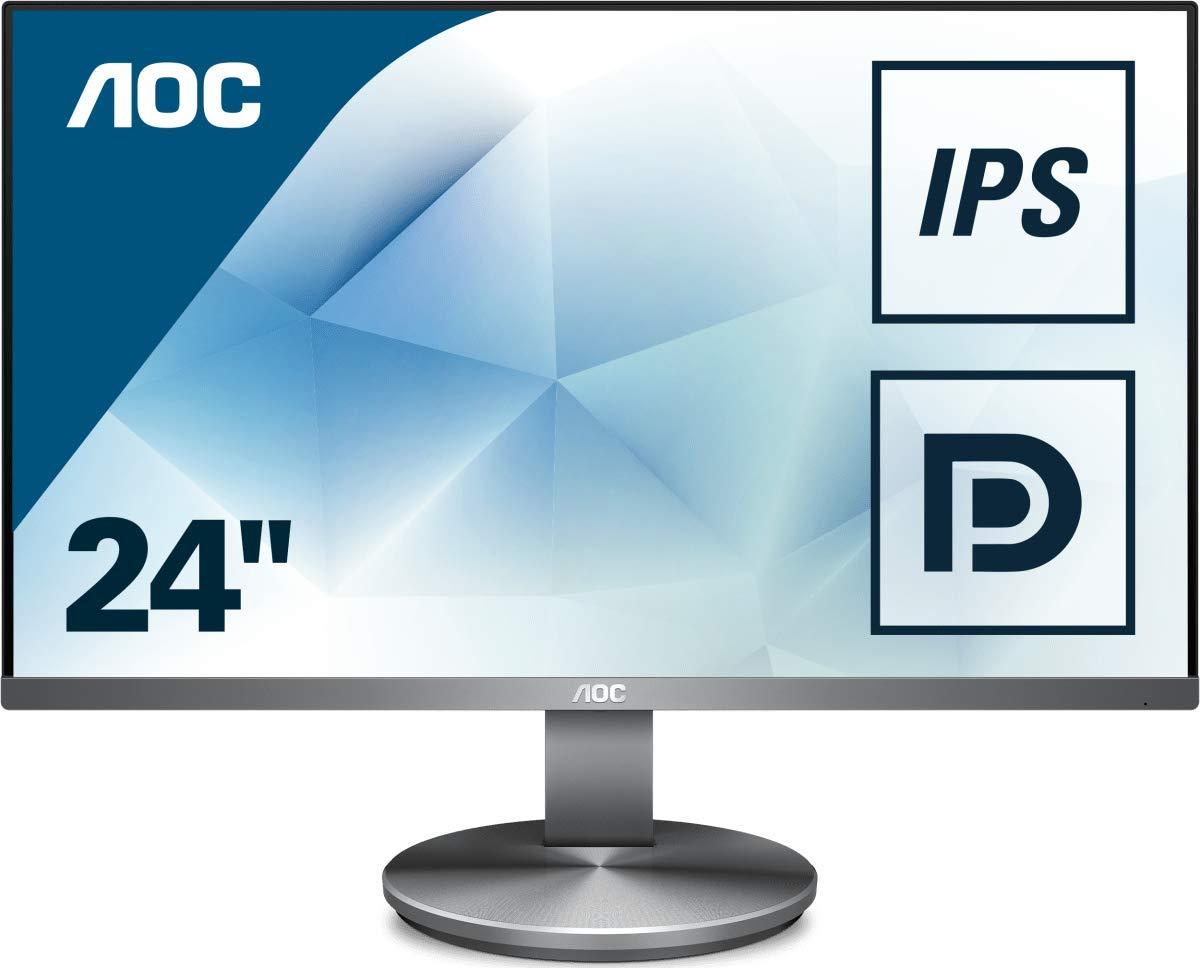 "AOC I2490VXQ/BT 23.8"" Widescreen IPS LED Gunmetal Multimedia Monitor Used - Like New £92.66 @ Amazon"