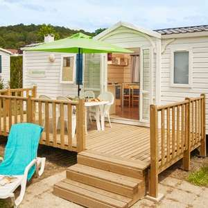 9 Nights Costa Dorada Spain April/May including Holiday Home + Stansted Flights £87pp (£347 total) based on 2A/2C @ Eurocamp
