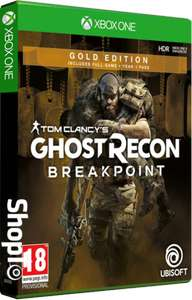 Ghost Recon Breakpoint Gold Edition (Xbox One) £34.85 @ ShopTo