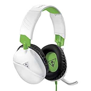 Turtle Beach Recon 70X White Gaming Headset for Xbox One, PS4, Nintendo Switch, & PC - £18.97 @ Amazon Prime (+£4.49 non-Prime)