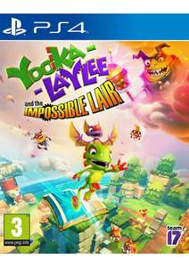 Yooka-Laylee and the Impossible Lair on PlayStation 4 for £9.99 Delivered @ Simply games