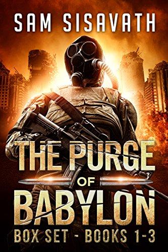Saving £5.97 Sci-Fi Post-Apocalyptic Trilogy - The Purge of Babylon Series Box Set: Books 1-3 Kindle Edition - Free @ Amazon