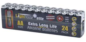 XMS Lighthouse AA Batteries (Pack 24) - £6.36 delivered at FFX