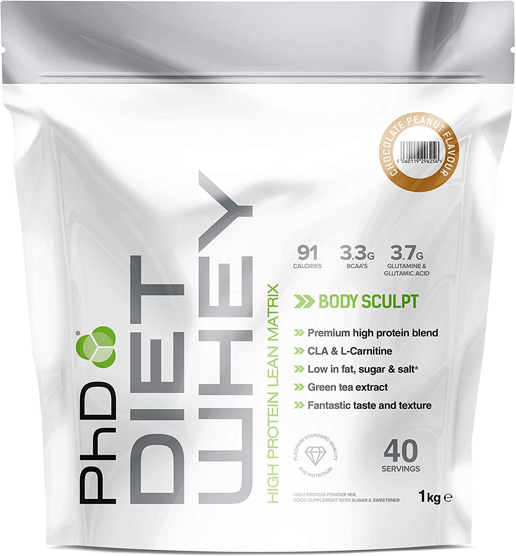 PHD Diet Whey some flavours £7.55 1kg - £7.55 @ Amazon Prime (+£4.49 non-Prime)