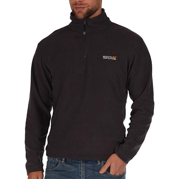 Regatta Men's Thompson Half-zip Fleece Jacket (selected sizes / colours) - £6.00 + £4.49 non prime @ Amazon