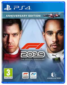 F1 2019 - Anniversary Edition (PS4) £25.98 @ Amazon