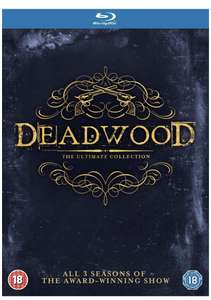 DEADWOOD The Ultimate Collection [Blu-ray] £9.76 @ Amazon (+£2.99 NP)